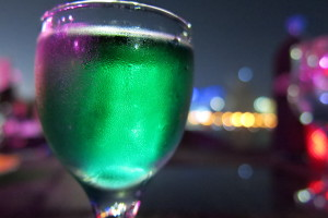 Green after meal drink